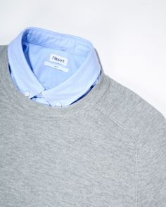 The Filippa K Paul #Oxford (160 CAD) underneath the Cotton Merino Sweater (195 CAD) available in stores & online soon.