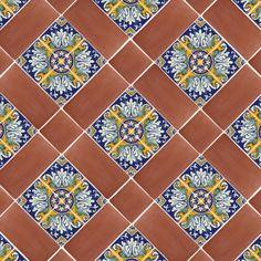 Hint Of Spanish Tile 12 Spanish Mission Red Terracotta Floor Tile