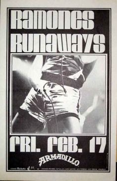 The Ramones and The Runaways