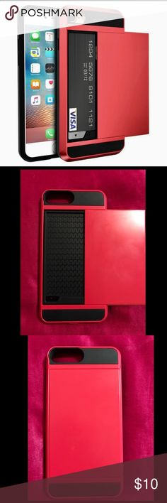 Iphone 7plus wallet case New never use Accessories Phone Cases