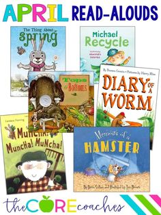 Read-alouds for first and second grade in April