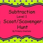 This is a great way to practice simple subtraction problems.  You can use these games to play Scoot or have a Scavenger Hunt.  Follow me at Primary...