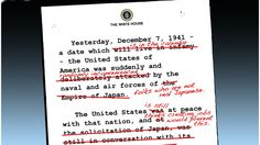 Pearl Harbor in terms of Obama's current agenda. 19Feb15