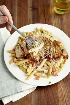Copycat Chili's Cajun Chicken Pasta