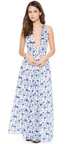Carolina K Marilyn Halter Dress | SHOPBOP