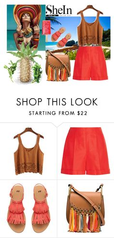 """""""Mexico"""" by elza-345 ❤ liked on Polyvore featuring Oscar de la Renta and Chloé"""