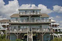 Beach Bingo East. 3 Bedrooms, 3 Baths. Oceanfront beach rental. Emerald Isle, NC. Reduced price!