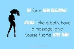 Tip for a New Begining
