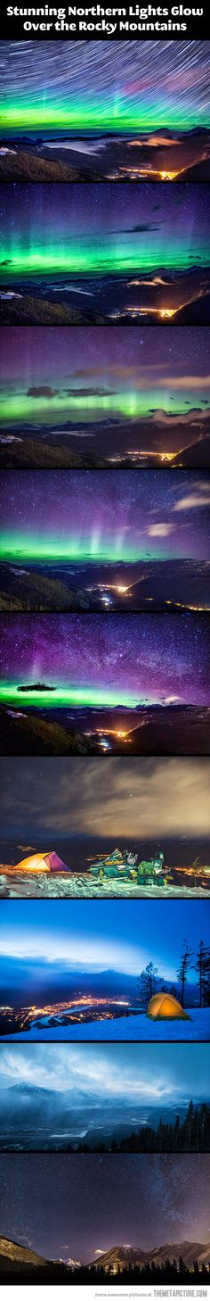 cool-Northern-lights-Rocky-Mountains