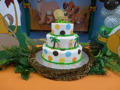 Cake at a Lion King party #lionking #partycake