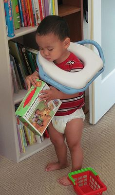 """Great potty learning post from Lisa Sunbury at Regarding Baby: """"Learning to use the toilet is a process that takes time. Rather than push or manipulate your child by giving him treats such as candy or a special reward for something that he will learn to do on his own, trust that he will learn when he is ready. Respect is based on trust."""" – Magda Gerber"""