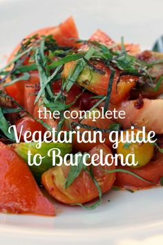 Too many to count! Our favorite vegetarian restaurants in Barcelona Too many to count! Our favorite vegetarian restaurants in Barcelona Barcelona Food, Barcelona Restaurants, Barcelona Travel, Barcelona Spain, Best Vegetarian Restaurants, Vegetarian Recipes, Soup Recipes, Salad Recipes, Vegetarian Lifestyle