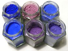 Sinopia Pigments and Materials - Blue, Pink and Violet Ultramarine Pigments Holi Colors, Vivid Colors, Blue Pigment, Alice Blue, Persian Blue, Air Force Blue, Color Shades, Electric Blue, Midnight Blue