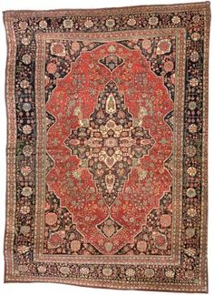 "KASHAN ""MOHTASHAM"" CARPET  CENTRAL PERSIA, CIRCA 1890   14ft.3in. x 10ft.2in. (430cm. x 310cm.)  I Christie's Sale 7039"