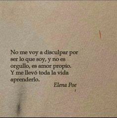 Book Quotes, Words Quotes, Me Quotes, Sayings, Positive Phrases, Inspirational Phrases, Spanish Quotes, Some Words, Sentences