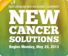 FREE Cancer Solutions Summit begins Monday: Six experts reveal how to heal cancer without drugs or surgery