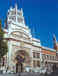 UK Londres Museo de Victoria y Alberto
