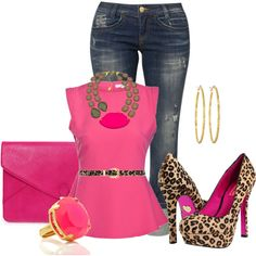 Hit the Club, created by hope-houston on Polyvore