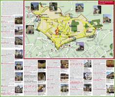 Lecce tourist map Itali Pinterest Tourist map Italy and City