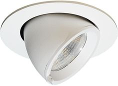 Elbow 096 downlight, 45° tilt, inklusive dimbar driver, 15W LED, 3000k, Hvit