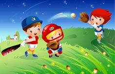 Children backgrounds - cartoons and kids. Colegio Ideas, Baseball Vector, Sport Craft, Free Android Games, Photoshop, Sport Motivation, Kids Videos, Physical Activities, Workout Programs