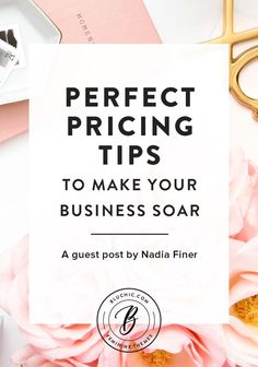 Pricing is a key issue when it comes to making your business soar. Charge too much & you can scare off your clients. Charge too little & you devalue your service. Check out this perfect pricing tips!