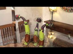 בובות דלעת ברזילאיות בעבודת יד