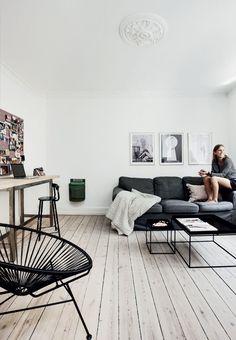 Lys 3-værelseslejlighed på Nørrebro
