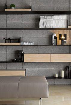inspiring display shelf ideas to spruce up the walls shelf design, offi Wall Shelves Design, Storage Design, Display Shelves, Display Ideas, Interior Walls, Home Interior Design, Interior Architecture, Cabinet Furniture, Furniture Design