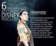 1600's Pocahontas