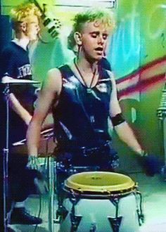 Bondage and BDSM gear, fishnet and leather, lingerie of all sorts: this was the aesthetic of Depeche Mode's Martin Gore in the mid-80s. It was, at most times, very feminine with a strand of pearls and floral lace but fused with the roughness of straps, chains and buckles. In 1984, around the timeSome Great Reward […]