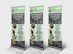 Target Training Solutions Pull Up Banners - three60design Banbridge Northern Ireland - Print - Graphic Design