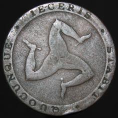 Isle Of Man, Rare Coins, Copper, Ebay, Brass