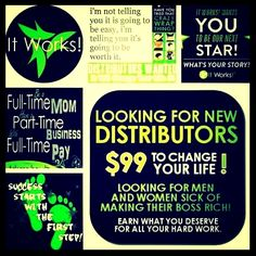 I am looking for a few people who want to join me and make extra cash. How does an extra $600 and up a moth sound! We have that crazy wrap that everyone wants. For only $99 you can make a life changing decision! Let me help! call/text 414-758-0077 or my website katsnaturalbodywraps.com #mommies #homemommy #moms #stayathomemoms #pregnant #momstobe #extracash #workfromhome #changinglives #journey #challenge #gerber #inspiration #motivation #healthy #family #kids #natural #shopping #huggies…