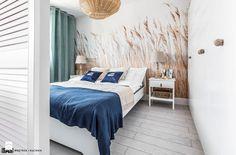 Mieszkanie z widokiem na morze - Sypialnia, styl skandynawski - zdjęcie od SAS Wnętrza i Kuchnie