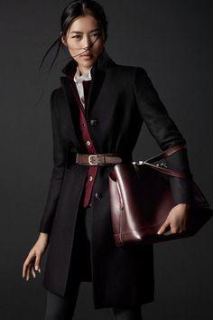 Supermodel Liu Wen teams up with fashion photography duo Hunter   Gatti for  Massimo Dutti Equestrian Fall Winter campaign. 1e28f4654
