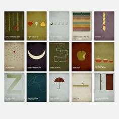 Square Inch Design: Complete Set of 15 Prints – Postcard Size from Top 100 Gifts Under - (Save