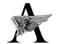 Angels in America logo, designed by milton Glaser, 1993 Brewery Logos, Bob Dylan Poster, Web Design, Logo Design, Design Ideas, Milton Glaser, Brand Identity Design, Modern Graphic Design, Shapes
