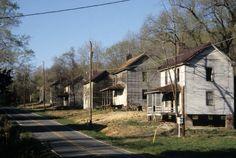 Houses, Glencoe Mill Village, Glencoe, Alamance County, North Carolina