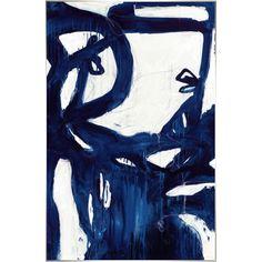 Indigo Bloom Framed Leftbank Art