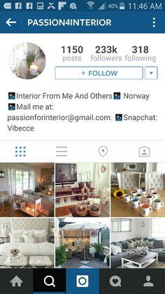 1 Instagram Accounts, Snapchat, Interior, Indoor, Interiors