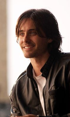 Jared Leto adorable smile
