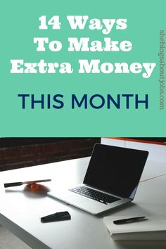 Online income tips: Find out 14 ways to make extra money with side gigs. They're legitimate and  you will get paid great rates to complete writing jobs from home.