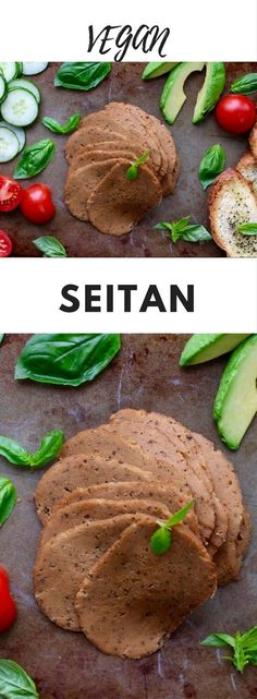 Seitan is a fantastic meat alternative. Made from protein-rich wheat gluten, it is both tasty and nutritious. You can do just about anything with seitan from sandwiches to stir fries and this recipe is the best I have ever made. Vegan Seitan Recipe, Seitan Recipes, Meat Recipes, Whole Food Recipes, Vegetarian Recipes, Cooking Recipes, Dinner Recipes, Bon Appetit, Vegan Recipes