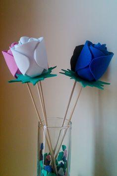 Realiza tantas rosas como desees y de los colores que más te gusten