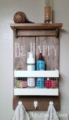 Rustic DIY Shelf