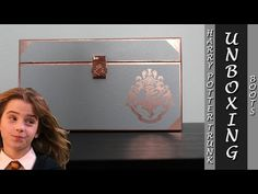 Boots Harry Potter Trunk Unboxing - YouTube Decorative Boxes, Harry Potter, Boots, Youtube, Crotch Boots, Shoe Boot