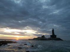Kanyakumari - The Sunrise. -south india