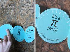 a Pi party.  Love this idea.