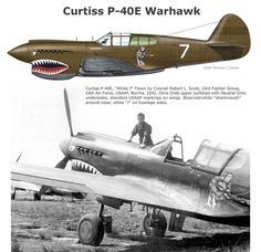 Image result for curtiss p-40 warhawk pictures